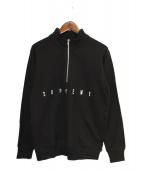 Supreme(シュプリーム)の古着「14SS United Half Zip Pullover」 ブラック