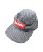 Supreme(シュプリーム)の古着「13AW Repeater Camp Cap」|グレー