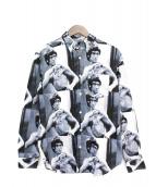 Supreme(シュプリーム)の古着「Bruce Lee Button Down Shirt」|グレー