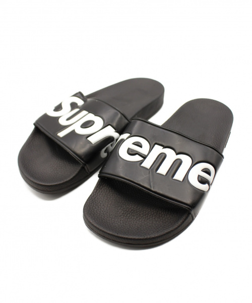Supreme(シュプリーム)Supreme (シュプリーム) 14SS Slide Sandals ブラック サイズ:8の古着・服飾アイテム