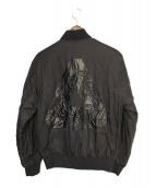 PALACE(パレス)の古着「ボンバージャケット」 ブラック