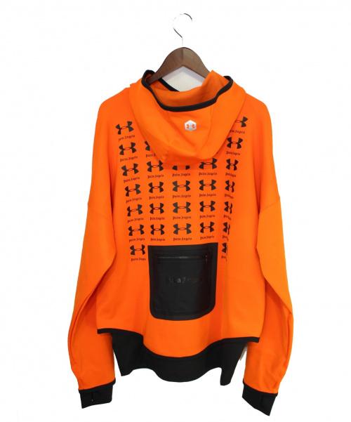 Palm Angels(パームエンジェルス)Palm Angels (パームエンジェルス) パーカー オレンジ サイズ:S 未使用品の古着・服飾アイテム