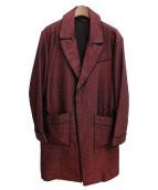 Salvatore Ferragamo(サルヴァトーレフェラガモ)の古着「ガウンコート」|ブラウン
