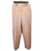 BLAMINK(ブラミンク)の古着「ウールスラックス」|ピンク