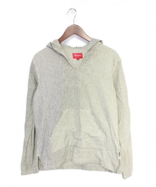 Supreme(シュプリーム)Supreme (シュプリーム) Baja Shirt ホワイト×ブラック サイズ:Sの古着・服飾アイテム