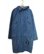 Calvin Klein Jeans(カルバンクラインジーンズ)の古着「デニムコート」|インディゴ