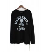 Mastermind JAPAN(マスターマインドジャパン)の古着「カレッジロゴスウェット」|ブラック