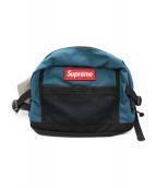 Supreme(シュプリーム)の古着「ウエストバッグ」|ブルー