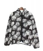 Supreme(シュプリーム)の古着「Roses Sherpa Fleece Jacket」|グレー