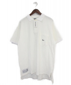 DESCENDANT(ディセンダント)の古着「オーバーサイズポロシャツ」|ホワイト