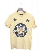GIVENCHY(ジバンシィ)の古着「Tシャツ」|ベージュ