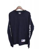 Supreme(シュプリーム)の古着「長袖Tシャツ」|ネイビー