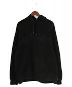 Supreme(シュプリーム)の古着「Polartec Hooded Sweatshirt」|ブラック