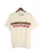 GUCCI(グッチ)の古着「Tシャツ」|ベージュ