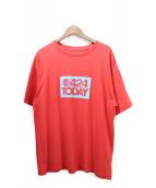 424(フォートゥーフォー)の古着「Tシャツ」|レッド
