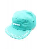 Supreme(シュプリーム)の古着「18SS Visor Print Camp Cap」|グリーン
