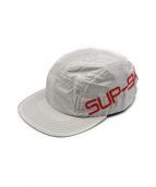 Supreme(シュプリーム)の古着「Side Logo Camp Cap」|シルバー