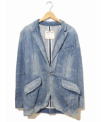 LEVIS RED(リーバイスレッド)の古着「デニムテーラードジャケット」|インディゴ
