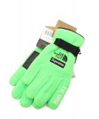 Supreme(シュプリーム)の古着「20SS RTG Fleece Glove」 黄緑