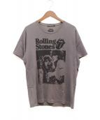 THEE HYSTERIC XXX(ジィ ヒステリック トリプルエックス)の古着「Rolling Stones Tシャツ」|グレー