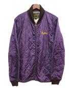 Hysteric Glamour(ヒステリックグラマー)の古着「キルティングジャケット」|ネイビー