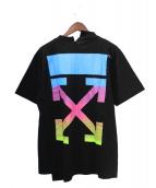 OFFWHITE(オフホワイト)の古着「Tシャツ」|ブラック