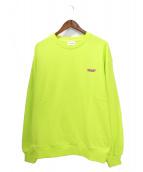 NERDY(ノルディ)の古着「スウェット」|黄緑