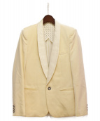 NUMBER (N)INE(ナンバーナイン)の古着「スモーキングジャケット」|アイボリー