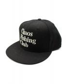 CHAOS FISHING CLUB(カオスフィッシングクラブ)の古着「キャップ」|ブラック