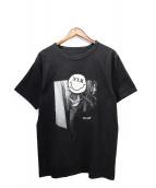 GOD SELECTION XXX(ゴットセレクショントリプルエックス)の古着「スマイルTシャツ」|ブラック