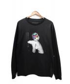 GOD SELECTION XXX(ゴットセレクショントリプルエックス)の古着「長袖Tシャツ」|ブラック