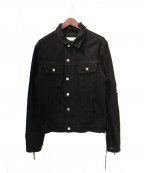 MR.COMPLETELY(ミスターコンプリートリー)の古着「デニムジャケット」|ブラック