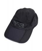 Y-3(ワイスリー)の古着「フロントロゴキャップ」 ブラック