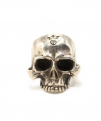 Gabor(ガボール)の古着「Large Skull Ring Without Jaw」