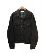 MNML(ミニマル)の古着「デニムジャケット」|ブラック