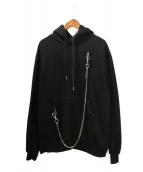 STAMPD(スタンプド)の古着「CHROME HOODIE」|ブラック