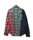 BILLIONAIRE BOYS CLUB(ビリオネアボーイズクラブ)の古着「チェックシャツ」|マルチカラー