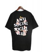 ANTI SOCIAL SOCIAL CLUB(アンチソーシャルソーシャルクラブ)の古着「Tシャツ」|ブラック