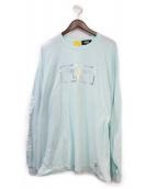 FR2(エフアールツー)の古着「長袖Tシャツ」 スカイブルー
