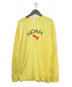 Noah(ノア)の古着「長袖Tシャツ」|イエロー