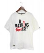 A BATHING APE(アベイシングエイプ)の古着「Tシャツ」|ホワイト