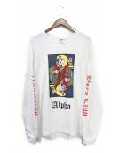 BILLIONAIRE BOYS CLUB(ビリオネアボーイズクラブ)の古着「長袖Tシャツ」|ホワイト