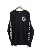 BILLIONAIRE BOYS CLUB(ビリオネアボーイズクラブ)の古着「長袖Tシャツ」|ブラック
