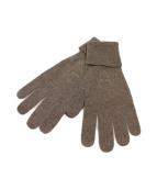 lucien pellat-finet(ルシアンペラフィネ)の古着「手袋」|ブラウン