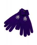 lucien pellat-finet(ルシアンペラフィネ)の古着「手袋」|パープル