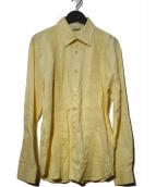 SSS(トリプルエス・ワールド・コープ)の古着「シャツ」|イエロー