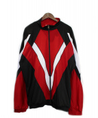 WILLY CHAVARRIA(ウィリーチャバリア)の古着「トラックジャケット」|レッド×ブラック