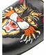 中古・古着 GUCCI (グッチ) アングリーキャットファーサンダル ブラック サイズ:FREE:39800円
