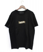 GOD SELECTION XXX(ゴットセレクショントリプルエックス)の古着「BOXロゴ Tシャツ」|ブラック