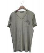 DOLCE & GABBANA(ドルチェアンドガッバーナ)の古着「ボーダーTシャツ」|グレー